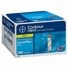 Bayer Contour Next Blood Glucose Test Strips 100 Each (Pack of 4)