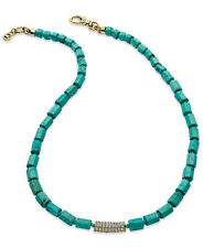 In Box - MICHAEL KORS Sea Side Luxe Turquoise Bead Collar Necklace $95