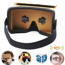 DIY Google Cardboard Virtual Reality 3D Glasses for iPhone Samsung Mobile Phone