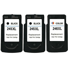 3PK PG-245XL CL-246XL Ink Cartridge For Canon PIXMA MG2920 MG2922 MG2924 MX492