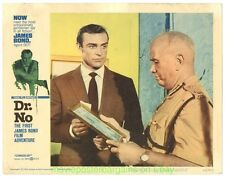 DR. NO LOBBY CARD size 11x14 Inch MOVIE POSTER Card # 7 JAMES BOND SEAN CONNERY