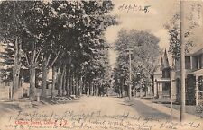 OXFORD NEW YORK CLINTON STREET QUACKENBUSH UDB POSTCARD c1907