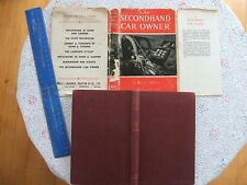 1950.THE SECONDHAND CAR OWNER (ILLUST.HARDBACK) 1st Ed. GOOD COND.
