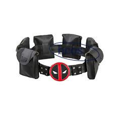 Deadpool X-Men Superhero metal Belt Accessories Costume Cosplay Props