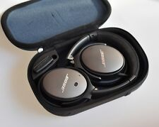 Black QC25 Quiet Comfort Noise Cancelling Headphones for Apple iPhone Mac