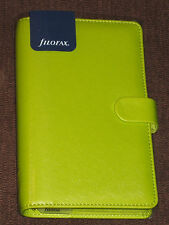 Filofax Saffiano 2016 & 2017 Compact Organiser PEAR Leather Look (022529) NEW