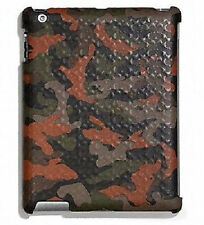 New COACH 64219 Heritage Molded Camo Orange Print Ipad 2 & 3 Case Gift Rec