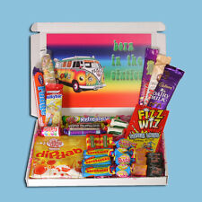 BORN IN THE 60'S RETRO SWEETS MINI BIRTHDAY GIFT BOX