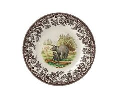 "Spode Woodland ""Bear &Cub"" Dinner Plate"