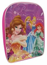Girls Disney Princess Ariel Bella Rapunzal School Bag Backpack