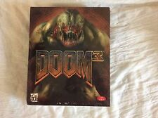 Doom 3 (PC, 2004) New - factory shrink wrapped big box