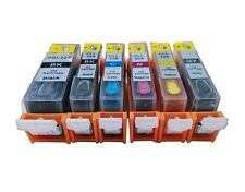 6 refillable ink cartridge for Canon PGI-225 CLI-226 Gray MG6120 MG8120 MG8220