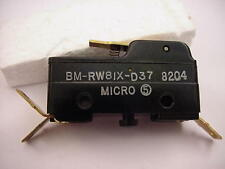 Honeywell Micro Switch BM-RW81X-D37 8204  Ships the Same Day of the Purchase