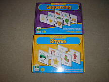 New Lot of 2 The Learning Journey Match It Games Sequencing & Rhyme