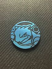 Pokemon Blue Blastoise Battle Arena Deck Collector COIN - NEW