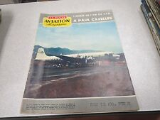 AVIATION MAGAZINE N° 222 Convair R3Y-2 Tradewind Paul-Cazelles Forrestal 1957 *