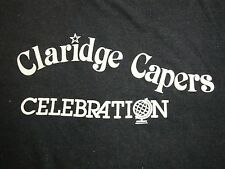 Vintage The Claridge Hotel & Casino Gambling Capers Party Money T Shirt M