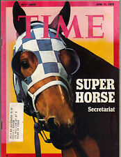 SECRETARIAT Time Magazine 6/11/73 SUPER HORSE