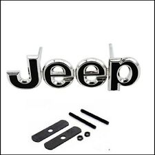 JEEP Grill Black Chrome Car Styling Accessories Emblem Badge Decal Grill JEEP UK