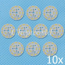 10x 7W 5730 White LED Light Emitting Diode SMD Lamp Panel 48mm