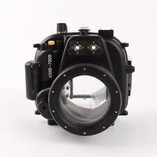 Meikon 50M 160FT Underwater Waterproof Housing Case for Canon EOS 650D 700D