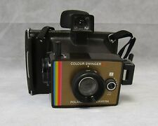 Vintage Retro 70s Instant Polaroid Land Camera Colour Swinger II Cold-Clip 195x
