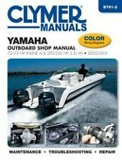Clymer Shop Manual Yamaha 75-115 Inline 4 & 200-250hp 3.3L V6 2000-13 B791-2