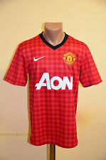 MANCHESTER UNITED ENGLAND 2012/2013 HOME FOOTBALL SHIRT JERSEY MAGLIA NIKE