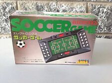 Super Rare 80S #Anoa Handheld Mechanical Led Soccer Boxed
