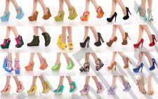 RA1 NIB 32 Pairs Wholesale Lot Women High Heels Platform Pumps Sandals Shoes