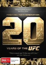 UFC - Fighting For A Generation - 20 Years Of The UFC (DVD, 2014)