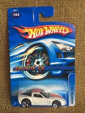 Hot Wheels 2006 Mainline Corvette C6 White With Orange Stripe