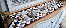 Charming VillageTable Runner Quilt Kit + Town Square QUILT BOOK  //  Moda Fabric
