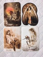 4 x Official Luis Royo Sticker - Angel Girl Vinyl Stickers Set Sexy Erotic Nude