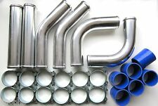 "Universal Pipework Kit 76mm (3"") for Front Mount Intercooler (FMIC) - BLUE"