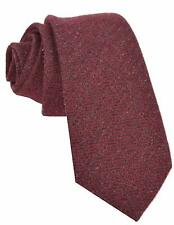 NEW Gucci Men's 351822 Brown Burgundy Red Cashmere and Silk Striped Neck Tie