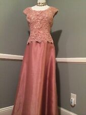 New MONTAGE by MON CHERI  Long Wedding & Occasion DRESS. Size 14