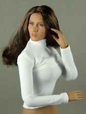 1/6 Phicen, Hot Toys, Play Toy, Magic Cube - Female White Turtleneck Body Wear