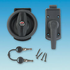 VECAM PO390 COMPLETE RIGHT HAND DOOR LOCK WITH 2 KEYS, MOTORHOME, CARAVAN,