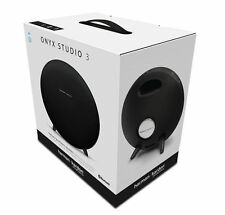 Harman Kardon Onyx Studio 3 Portable Bluetooth Speaker System - Black