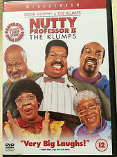 Eddie Murphy Janet Jackson NUTTY PROFESSOR II / 2 - THE KLUMPS | UK DVD