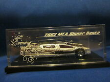 Hot Wheels 2002 MEA Dinner Dance The Evening Enchantment Sentinel 400 Limousines