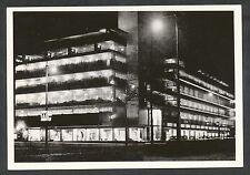 Rotterdam uit vervlogen jaren. No 146 De Bijenkorf bij avond