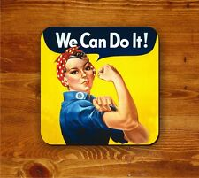 World War 2 poster - Rosie the Riveter, We Can Do It!