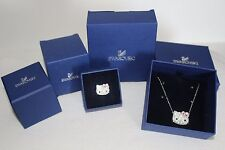 Swarovski Hello Kitty Necklace Hello Kitty Cute Pendant 5013201 and Ring Sz 55