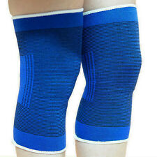 1pair Football Basketball Volleyball Blue Durable Knee Protector Pad Knee Braces