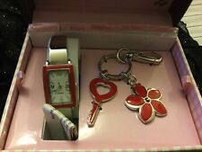 Mom's Recipe for Love~keychain,watch in a box,NEW