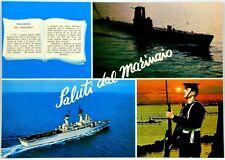 Cartolina Marina - Preghiera Del Marinaio, Saluti Dal Marinaio - Viaggiata