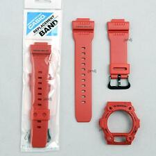 ORIGINAL CASIO G-SHOCK REPLACEMENT BAND & BEZEL GW-7900RD-4 GW7900R-4, RED MATTE