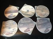 LOT OF 6 CHRYSLER BODY REPAIR MANUAL DVD CD